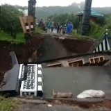 Video Jembatan Dau Ambrol Ramai di WAG: Kok Tidak Ada Sayapnya