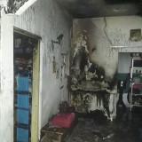 Akibat Konsleting Listrik, Rumah di Desa Bakalan Dilalap Si Jago Merah