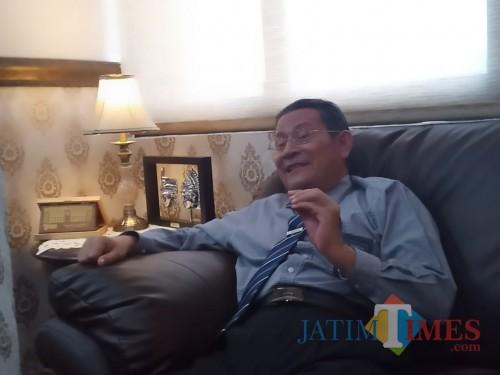 Rektor UB, Prof Dr Ir Nuhfil Hanani AR MS. (Foto: Ima/MalangTIMES)