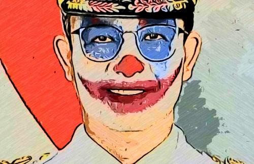 Meme Joker yang sempat ramai di medsos, kini bergulir lagi dikasus class action banjir Jakarta 2020 (Ist)
