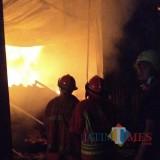 Dua Rumah Ludes Terbakar, Lagi-Lagi Akibat Korsleting