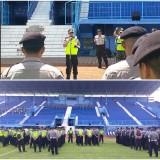 Persiapan Piala Gubernur Jatim, Laga Uji Coba Arema FC vs Semeru FC Lumajang Dijaga Ketat Personel Polres Malang