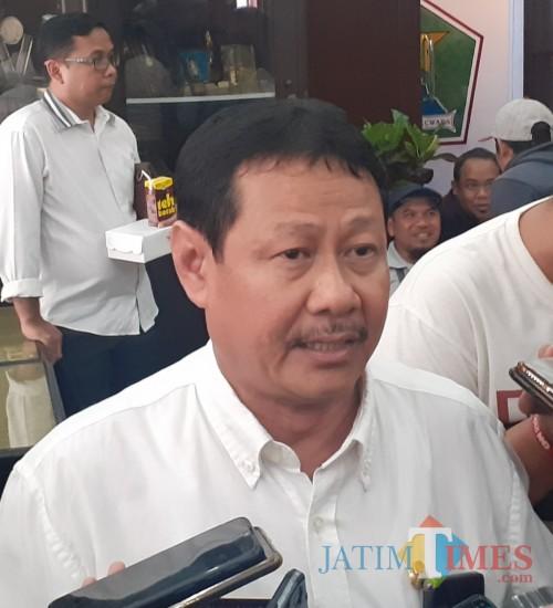 Ketua MKKS SMPN Kota Malang, Burhanuddin (Arifina Cahyanti Firdausi/MalangTIMES)