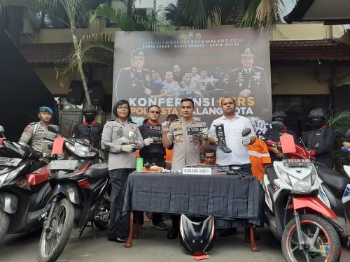 Perdana, Singo Arema Police Ringkus Spesialis Curanmor di Kota Malang