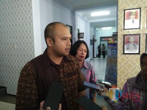 Kasat Reskrim Polresta Malang Kota, Kompol Yunar Hotma (Anggara Sudiongko/MalangTIMES)