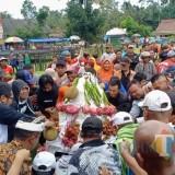 Festival Durian di Lereng Kelud Diserbu Ribuan Orang