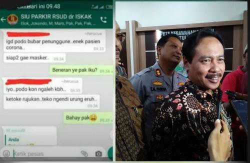 Direktur Rumah Sakit Dr Iskak Tulungagung, Supriyanto (Foto: Anang Basso / TulungagungTIMES)