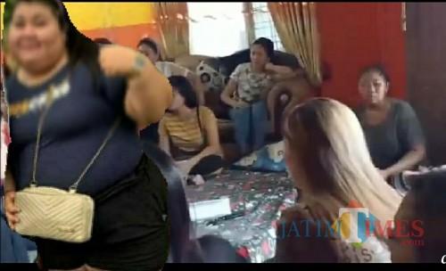 Rita Paidong yang dicari hingga didatangi  ke rumahnya. / Foto : Istimewa / Tulungagung TIMES