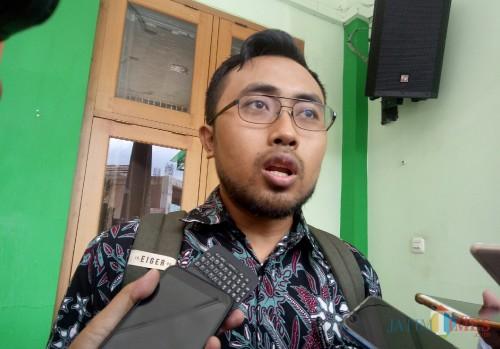 Koordinator MCW, M Fahrudin Andriansyah. (Foto: Ima/MalangTIMES)
