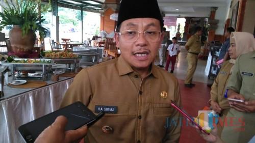 Wali Kota Malang Sutiaji saat ditemui di Hotel Ubud. (Foto: Ima/MalangTIMES)