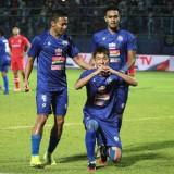 Determinasi Tinggi, Arema FC Unggul Dua Gol dari Sabah FA di Babak Pertama