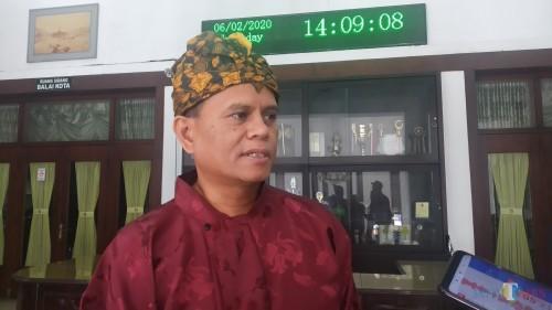 Kepala Dinas Koperasi, Perindustrian, dan Perdagangan (Diskoperindag) Kota Malang, Wahyu Setianto (Pipit Anggraeni/MalangTIMES).