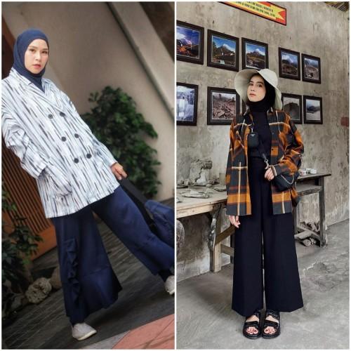 Padu pada style kulot ala hijabers. (Foto: Istimewa)