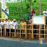 Dorong Perkembangan Pertanian Hortikultura di Blitar Selatan, Bupati Blitar Resmikan Embung Kaligambir