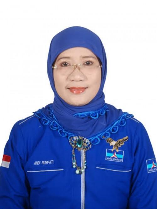 Wakil Ketua Badan Pemenangan Pemilu (Bappilu) DPP Partai Demokrat Andi Nurpati.