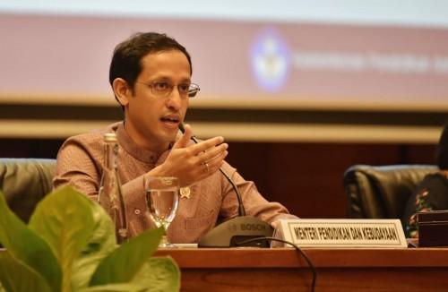 Menteri Pendidikan dan Kebudayaan (Mendikbud) Nadiem Makarim. (Foto: Kemdikbud)