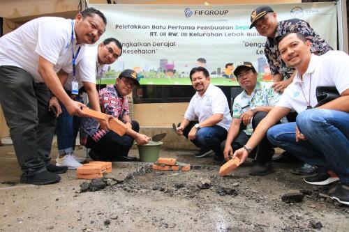 Program Corporate Social Responsibility Peduli Kesehatan mengadakan kegiatan Ipal Komunal bagi masyarakat Cilandak yang berkerja sama dengan Kecamatan Cilandak Jakarta Selatan.