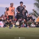 Kushedya Hari Yudo Cetak Gol Perdana di Piala Gubernur Jatim 2020