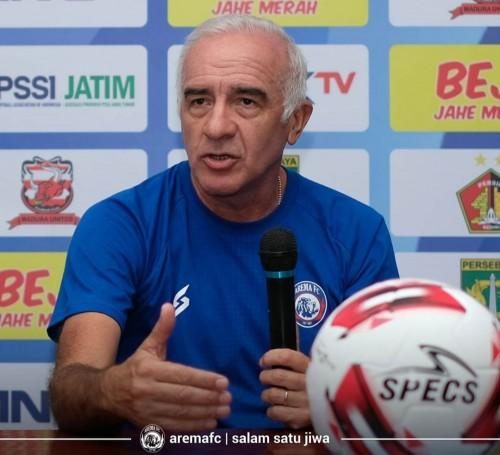 Pelatih Arema FC, Mario Gomez (official Arema FC)