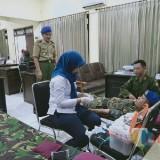Peduli Kemanusiaan, Menwa Unisba Blitar dan IARMI Gelar Donor Darah