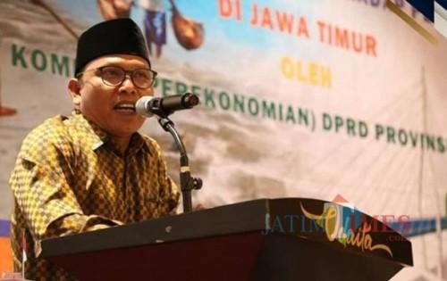 Ketua Komisi B DPRD Jawa Timur, Aliadi Mustofa, (Foto/Fahrurrosyi)