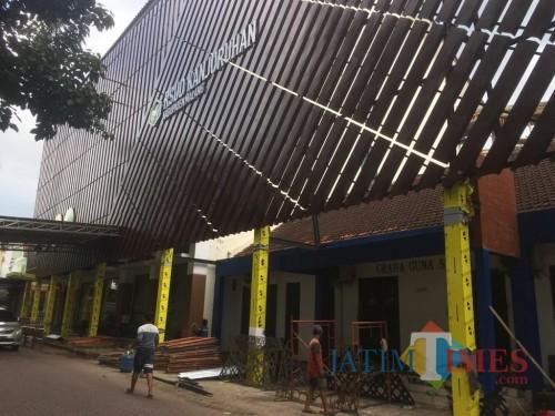 RSUD Kanjuruhan, tempat dimana anggota TNI dinyatakan meninggal setelah tertimpa pohon (Foto : Ashaq Lupito / MalangTIMES)