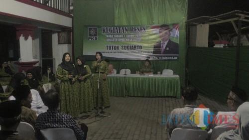 Reses, Ketua Komisi III Totok Sugiarto Tampung Aspirasi Pedagang Pasar Legi