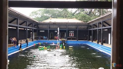 Salah datu kolam pemandian di Taman Rekreasi Wendit (Pipit Anggraeni/ MalangTIMES).