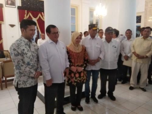 Tiga Menteri Berkunjung Ke Kediri Bahas Pembangunan Bandara