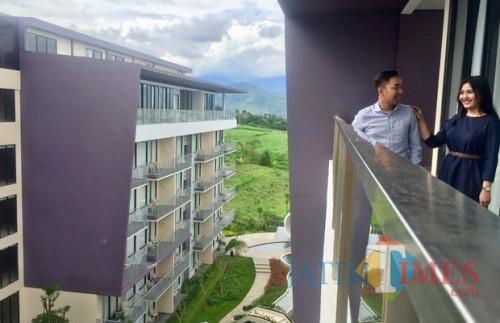 Salah satu hotel bintang lima di Kota Batu. (Foto: Irsya Richa/MalangTIMES)