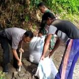 Pasca-Banjir, Ini Yang Dilakukan Polsek Puncu