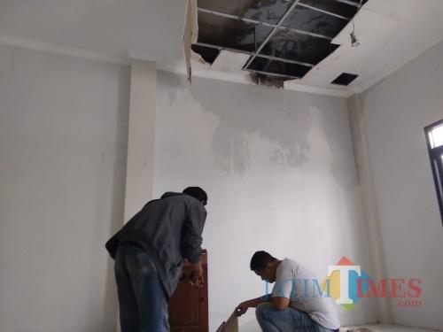 Plafon Puskesmas di Jombang Ambrol, Dewan Sebut Bangunan Tak Layak Pakai