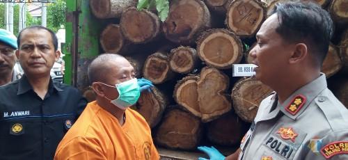 Angkut Kayu Ilegal, Pria Kalidawir Diamankan Polisi
