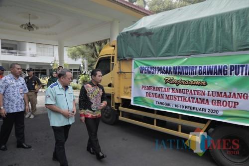 Gandeng Swasta, Pemkab Lumajang Suplay Bawang Putih ke Pasar