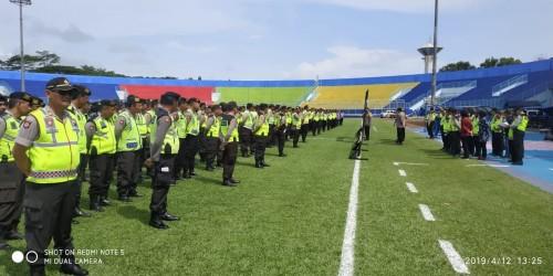 Pengamanan Laga Arema Kontra Persebaya, Polres Malang Kirim 60 Personel ke Blitar