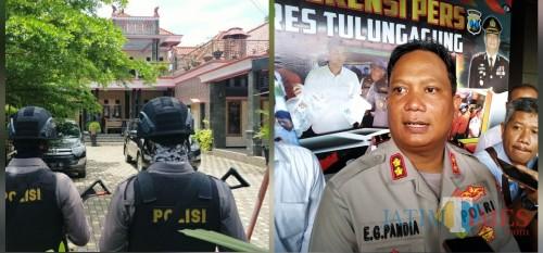 Penggeledahan KPK Dijadwalkan 3 Hari, Kapolres Tulungagung : Tugas Kami Mengamankan