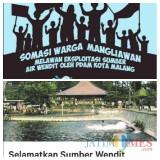 Jejak Somasi Hingga Petisi Sumber Air Wendit