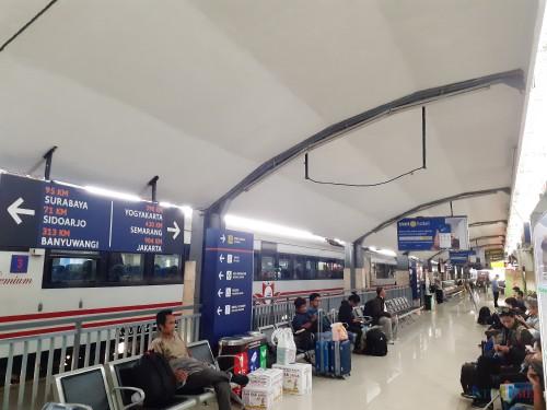 Lebaran Masih 3 Bulan Lagi, Tiket Mudik dari Stasiun Malang Sudah Terjual 50 Persen
