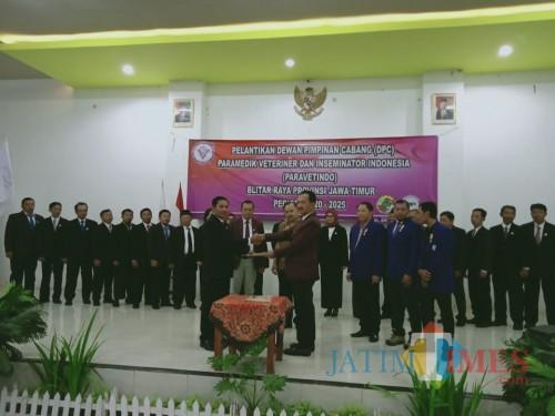Pengurus DPC Paravetindo Blitar Raya Dikukuhkan, Komitmen Dukung Ketahanan Sumber Daya Hewani