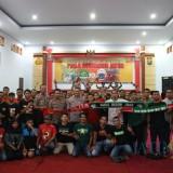 Rajut Kebersamaan, Polres Blitar Kota Gelar Nobar Final Piala Gubernur Jatim