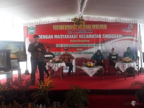 Sanusi Ajak Kepala Desa dan Masyarakat Kembangkan Potensi Desa di Program Gema Desa