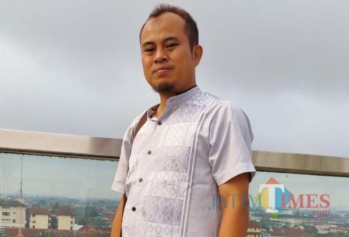 Mamik Priyatno, salah satu peserta yang mengungkap pengamanan soal ujian. / Foto : Istimewa / Tulungagung TIMES