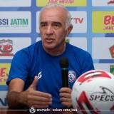 Susun Strategi Sambut Liga 1 2020, Pelatih Arema FC akan 'Satukan' Visi Misi Pemain