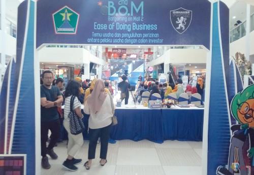Hari Kedua, BoM Dinasker PMPTSP Kian Ramai Dikunjungi Masyarakat