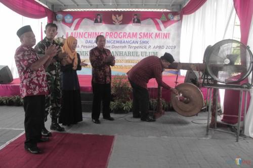 Launching SMK Mini, SMK Islam Anharul Ulum Blitar Ciptakan Santri Berjiwa Entrepreneur