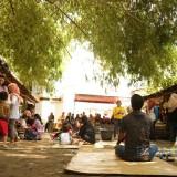 Menilik Pasar Papringan, Wisata Kuliner Nusantara di Tengah Hutan Bambu di Kediri