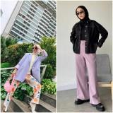 Inspirasi Outfit Fashion Warna Lilac Buat Hijabers Nih, Udah Coba?
