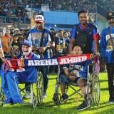 Respect, Arema FC Beri Tiket Terusan pada Penyandang Difabel