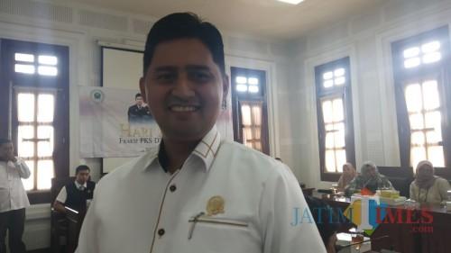 Anggota Komisi C DPRD Kota Malang Ahmad Fuad Rahman (Pipit Anggraeni/MalangTIMES).