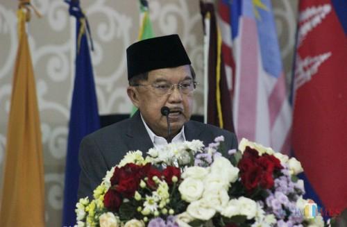 Mantan Wakil Presiden Republik Indonesia Jusuf Kalla. (Foto: Yogi/MalangTIMES)